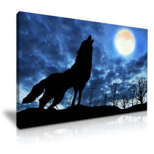 Wolf Canvas Printing Painting Reproduction for Wall Decor