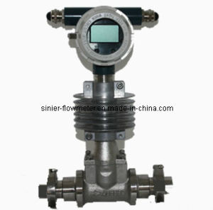 Sanitary Vortex Flow Meter for Flow Control pictures & photos