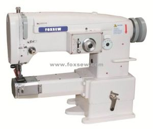 Cylinder Bed Unison Feed Zigzag Sewing Machine with Large Hokk pictures & photos
