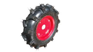 Trailer Wheel with Tractor Tire with Rim 4.00-8 pictures & photos