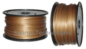 Gold Color PLA 3D Filament for 3D Printers pictures & photos