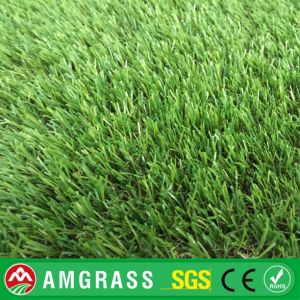 Three Color with Natural Soft Feeling Landscaping Artificial Grass pictures & photos