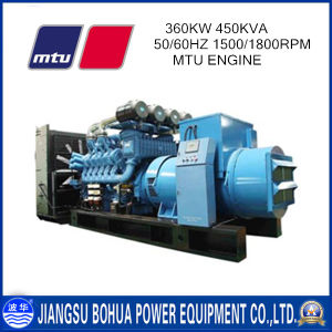 3 Phase 4 Wires Mtu 450kVA Diesel Generator for Sale
