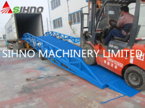 Mobile Ramp Loading and Unloading Dock Leveler for Harvester Machine pictures & photos