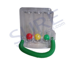 Good Quality Triflow Incentive Spirometer (Respiratory Exerciser) (SR8034) pictures & photos