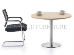 Round Shape Small Popular Meeting Table. Coffee Table (SZ-MT027) pictures & photos