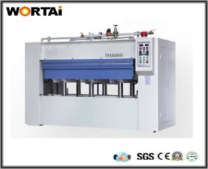 Solid Wood Veneer Surface of Positive and Negative Press Machine pictures & photos