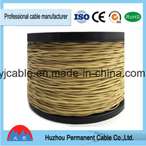Indoor/Outdoor Aerial Cable No-Armor Field D10 Telephone Cable Factory Price Per pictures & photos