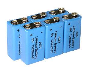 9V Smoke Alarm Lithium Battery Er9V Cr9V pictures & photos