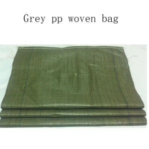 55*95cm Grey PP Woven Bag pictures & photos