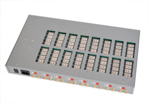 Managed Through Computer Hyper Terminal (ET-8264) , 8 Ports 64 Sims GSM Gateway pictures & photos