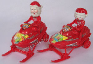 Xmas Motor-Sleds Toy Candy (110524) pictures & photos