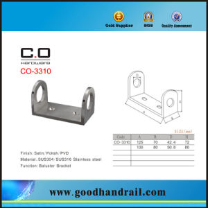 Handrail Base Plate (CO-3310) Stainless Steel pictures & photos
