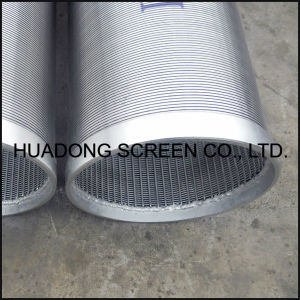 Stainless Steel Johnson Screen Water Well Pipe Filter Wege Wire Screens pictures & photos