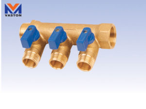 Brass Filter Pipe Fittings (VT-6872) pictures & photos