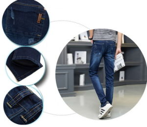 CH8608 Men′s Leisure Slim Skinny Denim Fashion Jeans pictures & photos