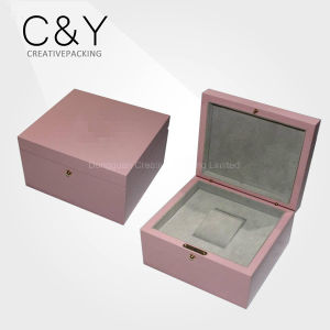 Ladies Watch Boxes Watch Gift Box Single Wooden Watch Box pictures & photos