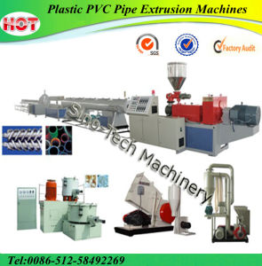 Plastic PVC Pipe Extrusion Machines pictures & photos