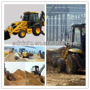 Farm Machinery, 7t Backhoe Loader Excavator for Sale pictures & photos