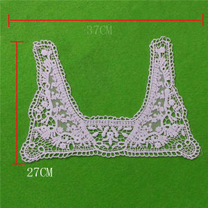 Hot Sales Embroidery Collar with Cotton Lace (cn88) pictures & photos