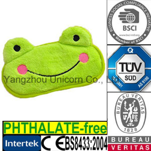 Microwave Heat Lavender Eye Mask Frog Animal Toy pictures & photos