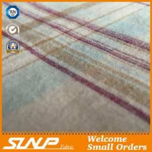 Hot Sale Yarn Dyed Cotton Flannel Fabric for Shirts