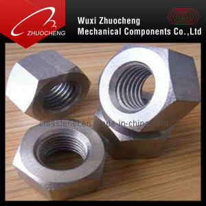 DIN934 M22 Hex Thick/Heavy Nut (DIN934) pictures & photos