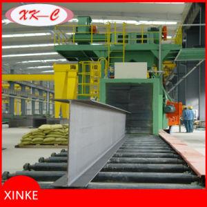 Chanel Steel Rust Remover Roller Conveyor Type Shot Blasting Machine pictures & photos