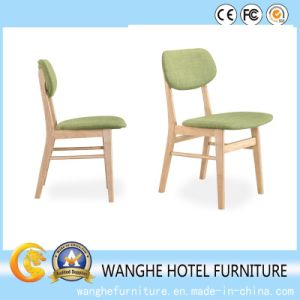 Whosale Restaurant Green Wooden Dining Chair for Hotel Project pictures & photos