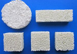 Alumina Foam Porous Ceramic Filter for Aluminium Foundry pictures & photos