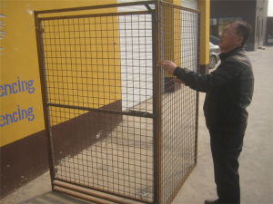 Heavy Duty Galvanized Wire Mesh Dog Cage pictures & photos