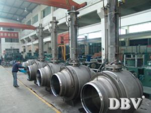 API Extended Stem Fully Welded Ball Valve pictures & photos