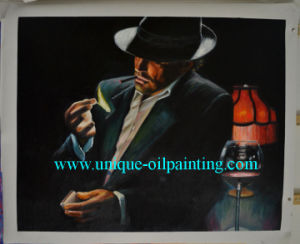 Handmade Canvas Oil Painting Reproduction for Wholesale