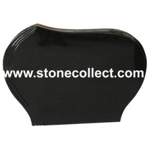 Shanxi Black Granite Headstone (Simply Style S04) pictures & photos