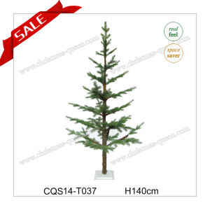 H38-60cm PE+PVC Wedding Decoration Snowing White Artificial Christmas Tree pictures & photos