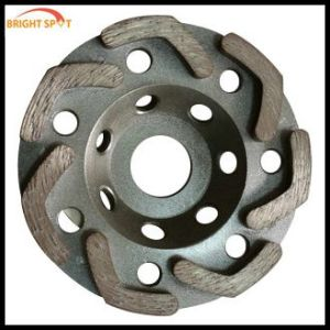 Diamond Cup Wheel for Stone Polishing pictures & photos
