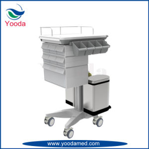 Mobile Hospital Workstation Medical Trolley pictures & photos