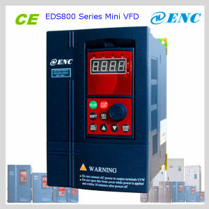 1 Phase 220V, 0.2kw ~1.5kw Enc Electric Equipment Eds800 Universal Mini Inverter (CE Approval) pictures & photos