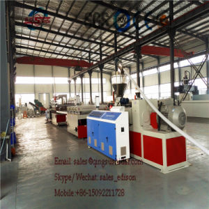 WPC Board Machine PVC Free Foam Plates Making Machine PVC Plates Making Machine Free Foam Plates Production pictures & photos