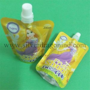 200ml Stand-up Juice Pouch with Spout pictures & photos