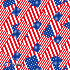 Yingcai America Flag Water Transfer Printing Hydro DIP Film pictures & photos