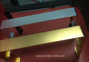 Sanding Natural Anodizing Silver/Black/Gold Aluminium Extrusion pictures & photos
