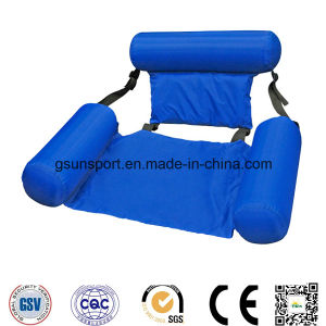Waterproof Fabric Large Pool Floating Water Mat Beanbag Bed Lounge Inflatable Raft