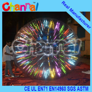Inflatable Zorb Ball Shinning Zorb for Sale (JZ001) pictures & photos