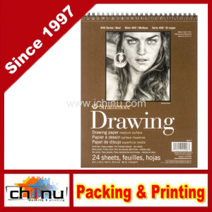 Wire Bound Medium Weight Drawing Paper Pad (520087) pictures & photos