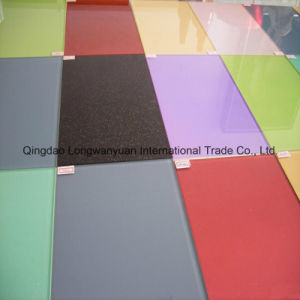 Tempered Flat Safety Colored Glass for Art and Decoration (LWY-TG41)