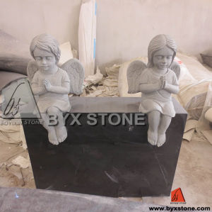 Adorable Granite Stone Baby Angel Monument / Headstone pictures & photos
