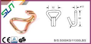 Sln 5t*8m Ratchet Tie Down Strap with Double J Hooks Ce GS pictures & photos