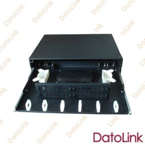 Optical Patch Panel Slidable Rack Mount Type 24 Cores pictures & photos