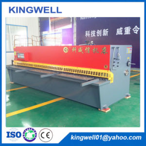 CNC Hydraulic Shearing Machine for Steel and Stainless Plate pictures & photos